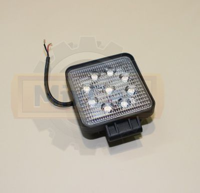 Фара светодиодная универсальная (LED DC12-80V 18W) (LED DC12-80V 27W)