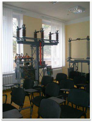 Обучение электрослесарей по ремонту оборудования распределительных устройств