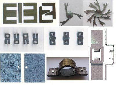 Штампованные изделия - холодная штамповка металла