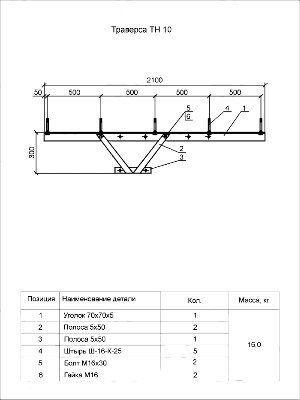 Траверса ТН-10