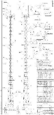 Мачта осветительная H=45м