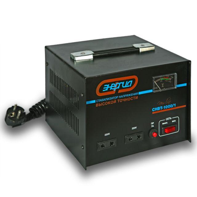 Стабилизатор напряжения однофазный Энергия New Line 1000/1
