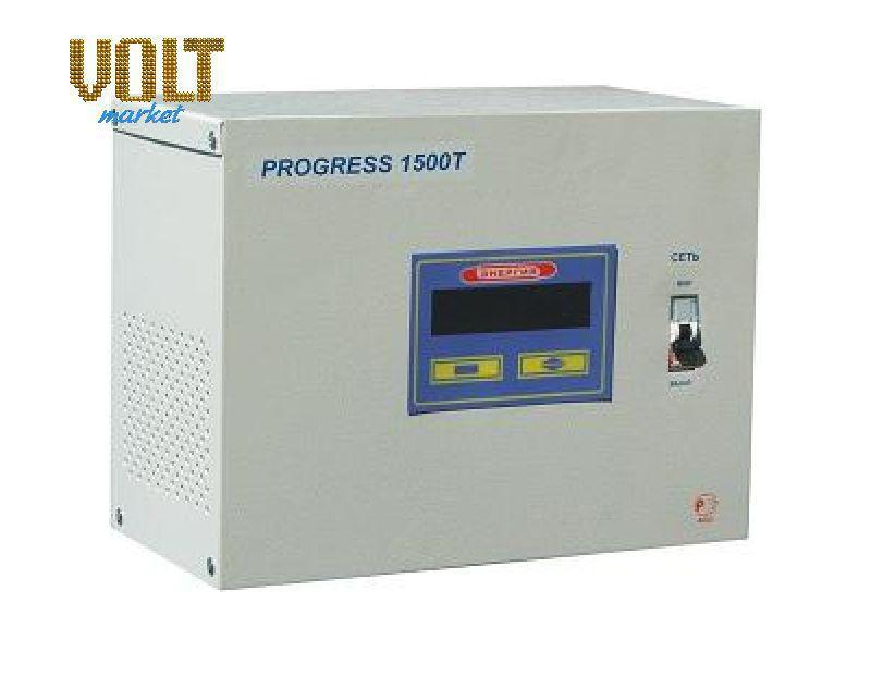 Стабилизатор напряжения PROGRESS 1500Т
