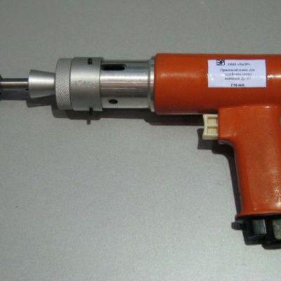 Приспособление НТ-68 для шлифовки седел вентилей Ду-20 с пневмоприводом