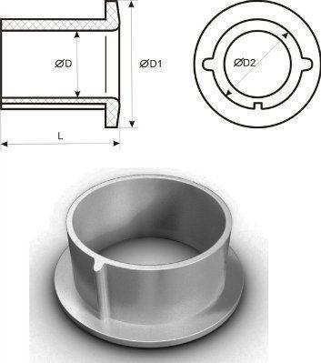 Втулка В28 (упаковка 500шт) (усл.пр. 25,5 - 28,5мм)
