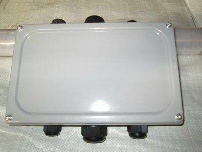 Коробка соединительная КС-20 ip 65 (с сальниками)