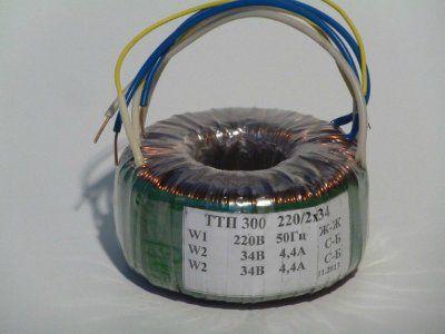 Трансформатор ТТП-300 220/34+34