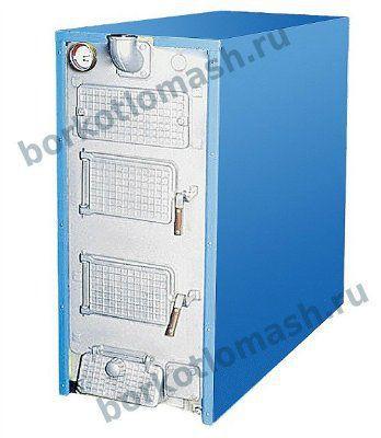 Котел чугунный твердотопливный КЧВр-Т 50-80 кВт