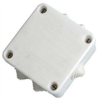 Коробка монтажная КЭМ 3-10-4 для открытой установки IP53 белая (Витебск)
