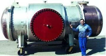 Кожухотрубный теплообменник подогреваохлаждения нефти STOil43