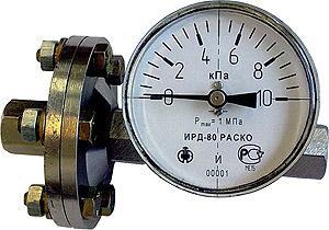 """Индикатор разности давлений ИР-Д-80 """"РАСКО"""""""