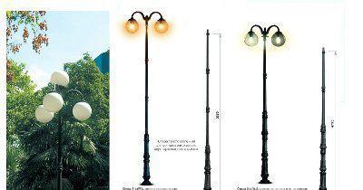 Парковые декоративные опоры, светильники BET/SD-OP.PK