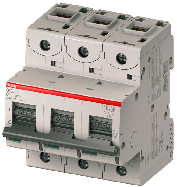 Автоматический выключатель S803C C100 25kA 2CCS883001R0824