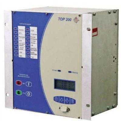 Терминал защиты и автоматики секционного выключателя (резервного ввода) 6-35 КВ «ТОР 200-С хх»