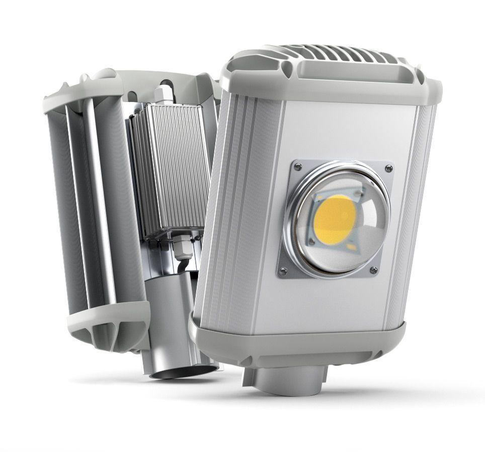 Уличный светодиодный светильник UniLED ECO-MS 50 Вт, 5000 лм, 5000 К,  220VAC, IP 65