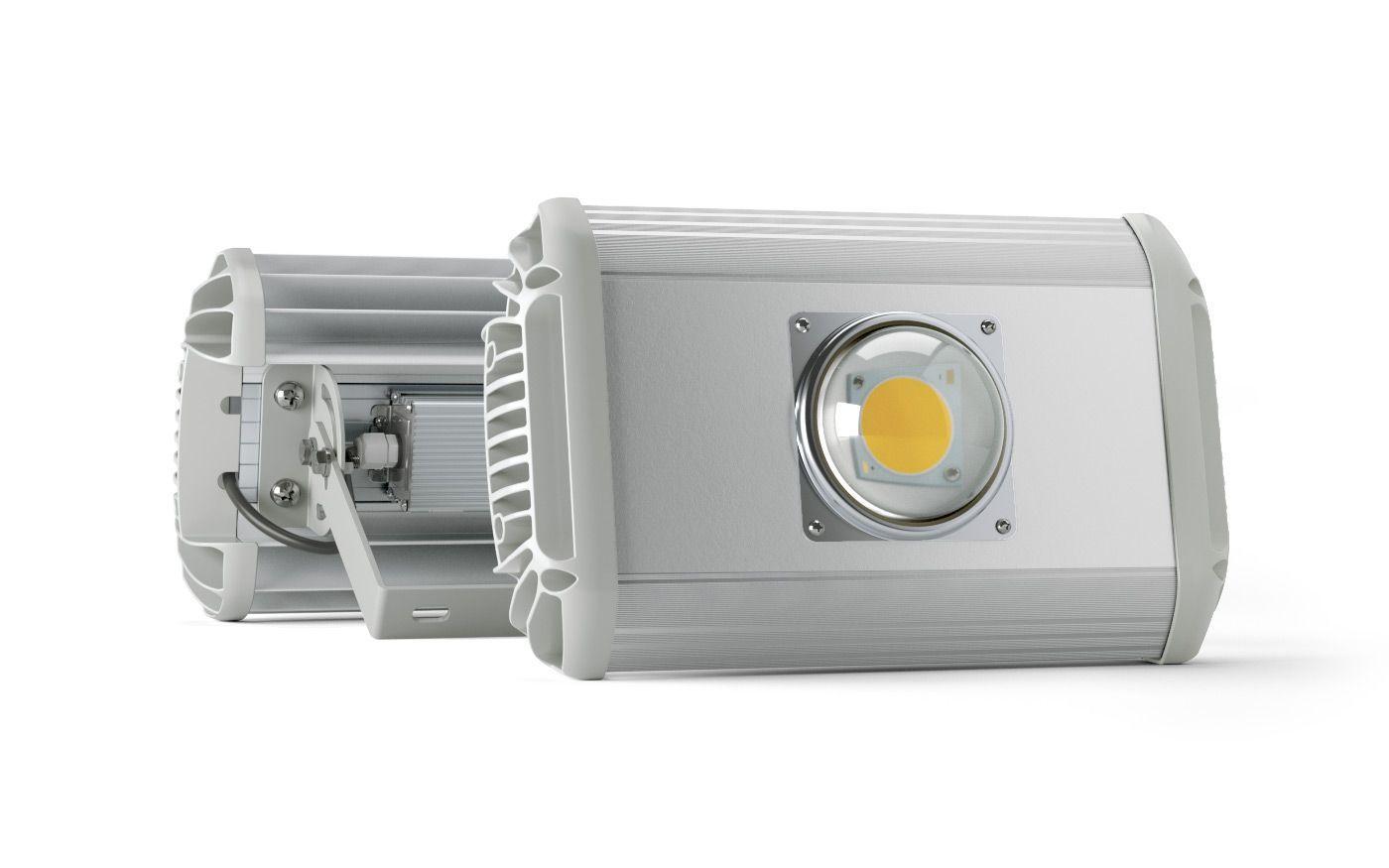 Промышленный светильник UniLED ECO-MP 70W, 70Вт, 8050лм, 5000К,  220VAC, IP65