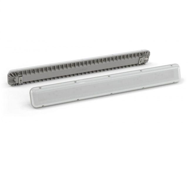 Промышленный LED светильник LSPlate 35 Вт, 5000 К, 3280 лм, 220 VAC, IP65, БАП 180 минут