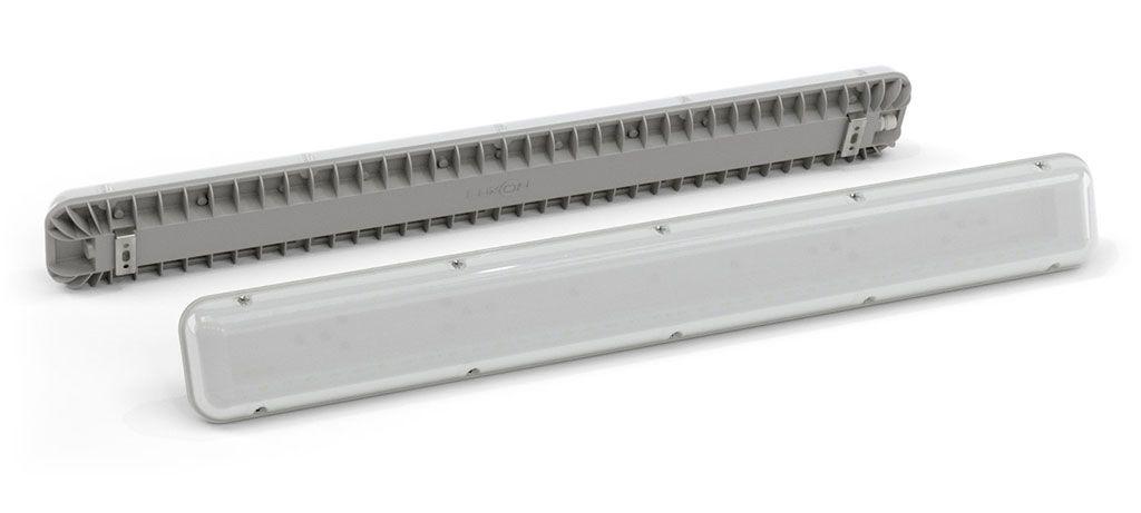 Промышленный светильник LSPlate 80 Вт, 5000 К, 7440 лм, 220 VAC, IP 65