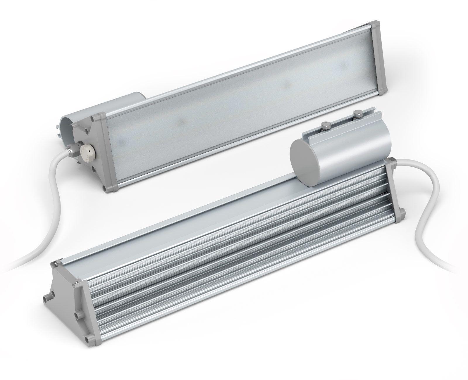 Промышленный светильник LuxON Promline 100W, 100Вт, 11000лм, 5000К, 220VAC, IP65