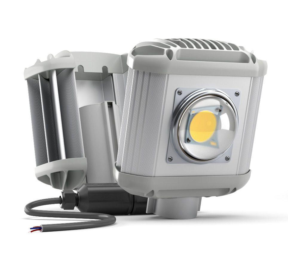 Уличный светодиодный светильник UniLED ECO-MS 35 Вт, 3800 лм, 5000 К, 220 VAC, IP 65