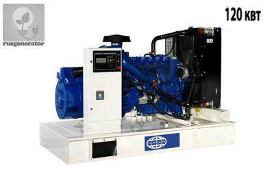 Дизель-генератор 120 квт FG WILSON P165-1 (Электростанция 120 квт FG WILSON P 165-1), генератор трехфазный 230/380 вольт.