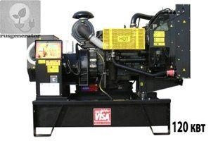 Дизель-генератор 120 квт ONIS VISA P155 (Дизельная электростанция 120 квт ONIS VISA P 155 B), генератор трехфазный 230/380 вольт.