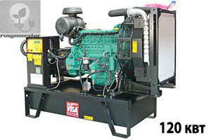 Дизель-генератор 120 квт ONIS VISA V150 (Электростанция 120 квт ONIS VISA V 150 B), генератор трехфазный 230/380 вольт.