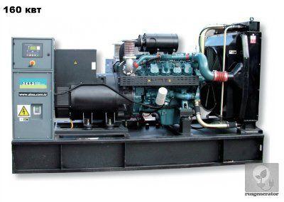 Дизель-генератор 150 квт AKSA AD220 (Электростанция 150 квт AKSA AD 220), генератор трехфазный 230/380 вольт.