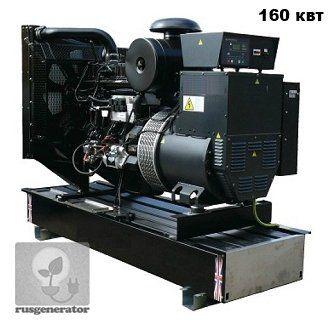 Дизель-генератор 150 квт WELLAND WP200 (Электростанция 150 квт WELLAND WP 200), генератор трехфазный 230/380 вольт.