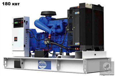 Дизель-генератор 180 кВт FG WILSON P250H-2 (Электростанция 180 квт.FG WILSON P250H2), генератор трехфазный 230/380 вольт.