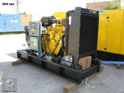 Дизель-генератор 200 кВт AKSA AJD275 (Дизельная электростанция 200 квт AKSA AJD 275), генератор трехфазный 230/380 вольт.