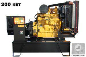 Дизель-генератор 200 кВт ONIS VISA JD250 (Электростанция 200 квт ONIS VISA JD 250 B), генератор трехфазный 230/380 вольт.