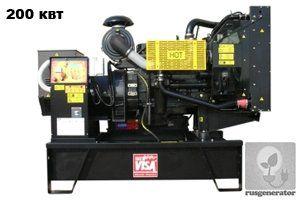 Дизель-генератор 200 кВт ONIS VISA P245 (Дизельная электростанция 200 квт ONIS VISA P 245 B), генератор трехфазный 230/380 вольт.
