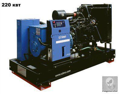 Дизель-генератор 200 квт SDMO J300K (Дизельный генератор 200 квт SDMO MONTANA J300 K), электростанция трехфазная 230/380 вольт.