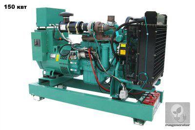 Дизель-генератор 150 кВт GMGEN GMС200 (Электростанция 150 квт GMGEN GMС 200), генератор трехфазный 230/380 вольт.