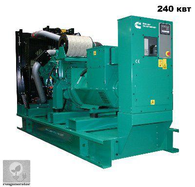 Дизель-ГЕНЕРАТОР 250 квт CUMMINS C330D5 (Электростанция 250 квт.CUMMINS C330 D5), генератор трехфазный 230/380 вольт.