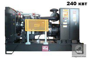 Дизель-генератор 250 квт ONIS VISA F300 (Электростанция 250 квт ONIS VISA F 300 B), генератор трехфазный 230/380 вольт.