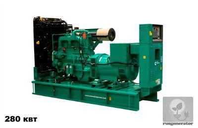 Дизель-генератор 280 квт CUMMINS C400D5 (Электростанция 280 квт CUMMINS C400 D5), генератор трехфазный 230/380 вольт.