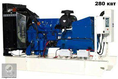Дизель-генератор 280 кВт FG WILSON P350P5 (Электростанция 280 квт FG WILSON P400E5), генератор трехфазный 230/380 вольт.