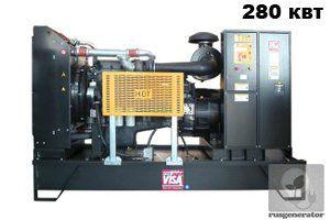 Дизель-генератор 280 квт ONIS VISA F350 (Электростанция 280 квт ONIS VISA F 350 B), генератор трехфазный 230/380 вольт.