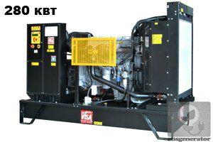 Дизель-генератор 280 квт ONIS VISA P350 (Дизельная электростанция 280 квт ONIS VISA P 350 B), генератор трехфазный 230/380 вольт.