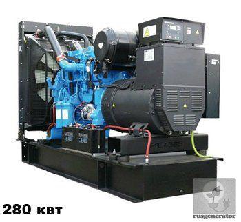 Дизель-генератор 280 кВт WELLAND WP350 (Электростанция 280 квт WELLAND POWER WP 350), генератор трехфазный 230/380 вольт.