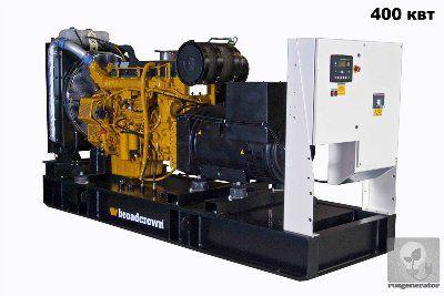 Дизельная электростанция 400 квт BROADCROWN BCV 550 (Генератор 400 квт BROADCROWN BCV 550-50), генератор трехфазный 230/380 вольт.
