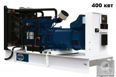 Дизельная электростанция 400 кВт FG WILSON P500P3 (Дизельный генератор 400 квт FG WILSON P550E3), генератор трехфазный 230/380 вольт.