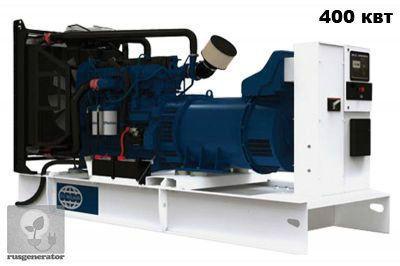 Дизельная электростанция 400 кВт FG WILSON P550-1 (Дизель-генератор 400 квт FG WILSON P550), генератор трехфазный 230/380 вольт.