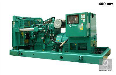 Дизельная электростанция 400 квт CUMMINS C550D5E (Дизель-генератор 400 квт CUMMINS C550D5), генератор трехфазный 230/380 вольт.