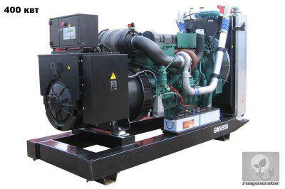 Дизельная электростанция 400 квт GMGEN GMV550 (Дизельный генератор 400 квт GMGEN GMV 550), генератор трехфазный 230/380 вольт.