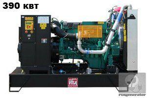 Дизельная электростанция 400 квт ONIS VISA V505 (Дизельный генератор 400 квт ONIS VISA V 505 B), генератор трехфазный 230/380 вольт.
