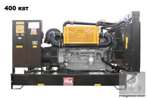 Дизельная электростанция 400 квт ONIS VISA P500 (Дизель-генератор 400 квт ONIS VISA P 500 B), генератор трехфазный 230/380 вольт.