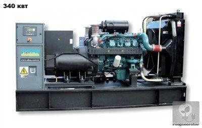 Дизельная электростанция 350 квт AKSA AD490 (Дизель-генератор 350 квт AKSA AD 490), генератор трехфазный 230/380 вольт.